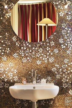 Awesome mosaic wall