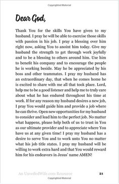 Thirty-One Prayers For My Husband: Seeing God Move In His Heart - Unveiled Wife Online Book Store  - 3