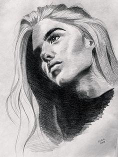 Pencil sketch easy simple drawings art beginner simple how to draw portrait
