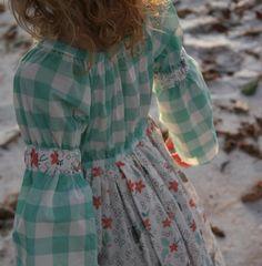 "@bizzy_bean_clothing - ""Closeup details on the <plaid pine cone> dress! #bizzybeanclothing #hawthornethreads @hawthornethreads"""