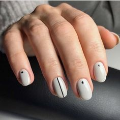 16 Cool Nail Designs for Short Tips & Biters