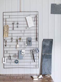 Useful Hooks Wall Rack by Cox & Cox