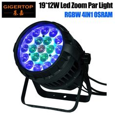 (320.00$)  Buy here - http://aij7k.worlditems.win/all/product.php?id=32276363411 - Freeshipping 19x12W RGBW 4IN1 Led Zoom Par Light 10-50 Degree Beam Adjustable Osram Lamp High Power Color Individual Control