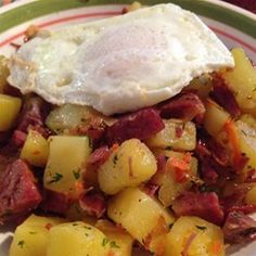 Deluxe Corned Beef Hash | Serve this savory treat with fried eggs and soda bread. It's just as good for breakfast the next day.