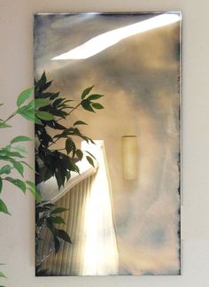 Evolve Custom Antiqued Mirror by MIRRALS on Etsy