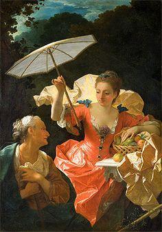 Vertumnus and Pomona, 1710-20 by Jean Ranc