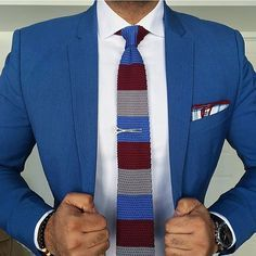 Hump  Day Blues  __________________________________________ Jacket: @Forever21 Tie, Tie Bar, Pocket Square, & Bracelet: @WearLapelPins  Watch: @DapperTime