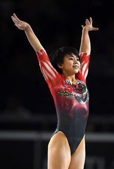 Gymnastics Posters, Gymnastics Girls, Female Gymnast, Rhythmic Gymnastics Leotards, Female Athletes, Sport Girl, Japanese Girl, Sports Women, Olympics