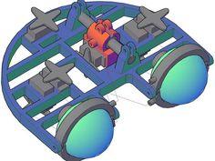 Animatronic eye mechanism by Micropuller - Thingiverse