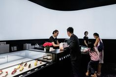 Modern Monochrome Bakeries - This Modern Patisserie Offers Dynamic High-End Desserts (GALLERY)