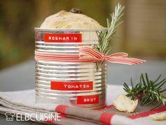 Tomaten-Rosmarin-Dosen-Brot – das geniale Mitbringsel zur nächsten Grillparty! - ELBCUISINE