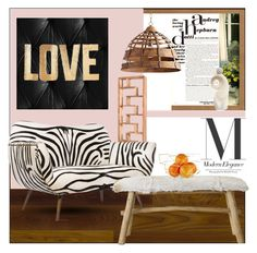 """""""my home"""" by aimbilal on Polyvore featuring interior, interiors, interior design, home, home decor, interior decorating, Stikwood, Cyan Design, Dot & Bo and Emporium Home"""