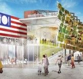Biber Architects Breaks Ground on USA Pavilion With Edible Vertical Garden for the Milan Expo 2015 | Inhabitat - Sustainable Design Innovation, Eco Architecture, Green Building