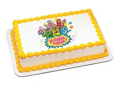 Yo Gabba Gabba Party Time - Edible Image Cake / Cupcake Topper Personalized Licensed Icing / Frosting Sheet