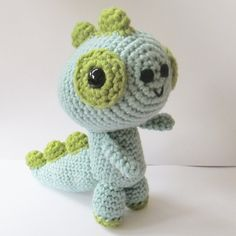 Amigurumi T-Rex   - PDF crochet pattern by Ana Paula Rimoli
