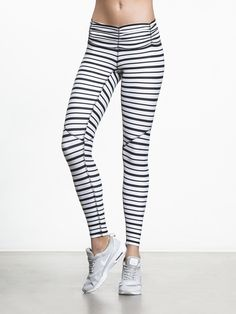 Who says workout clothes can't be fashionable? With these vivacious, zebra print Blessed leggings from Chill by Will, you'll easily become the fashion icon of your next yoga class. Sporting a relaxed ruched waistband that provides just the right amount of
