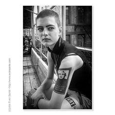 :: I'm a Deeply Superficial Person - #iPhotography Location -High Line #WestChelsea #NYC #NewYork Subject - #Female #EnvironmentalPortrait #AndyWarhol #Tattoo Camera - #Apple #iPhone4s #EvanSante  Please consider following my #Instagram Feed - http://ift.tt/1S9w64J  2013 - Evan Santé - All Rights Reserved