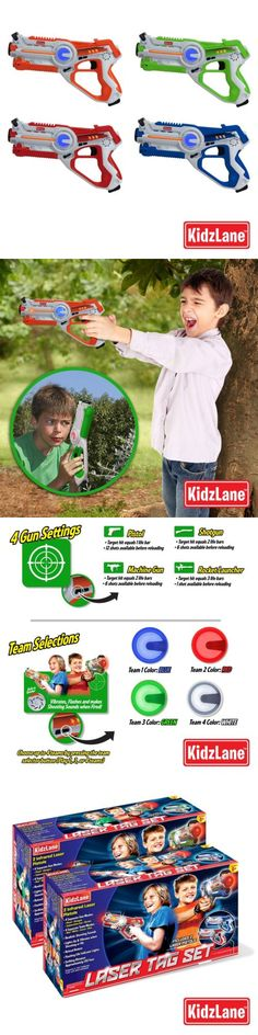 Laser Tag 168245: Kidzlane Laser Tag Game Mega Pack, Set Of 4 - Laser Gun Indoor And Outdoor Group -> BUY IT NOW ONLY: $114.99 on eBay!
