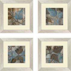 Found it at Wayfair - 4 Piece Framed Painting Print Set