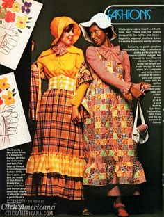 Vintage fashions: Looking back from 1972