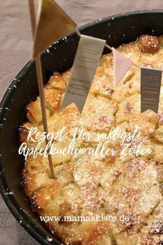 The juiciest apple pie ever Recipe: The juiciest and easiest apple pie ever - mamaskiste.de Robert van Spronsen robertvansprons Essen und Trinken The juiciest apple pie ever Robert van Spronsen The juiciest apple pie ever robertvansprons Recipe: Easy Cake Recipes, Pie Recipes, Easy Desserts, Dessert Recipes, Homemade Apple Pie Filling, Homemade Pie, Dessert Simple, Pudding Desserts, Crust Recipe