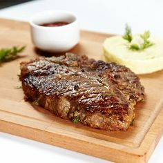 Garlic Grilled #Steaks Try the #recipe! #cookingathome