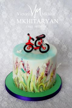 The first bicycle by V&M Mkhitaryan Cake Artistry