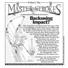 Master Strokes for 12/21/2016