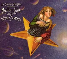 Carátulas de música Frontal de The Smashing Pumpkins - Mellon Collie And The Infinite Sadness. Portada cover Frontal de The Smashing Pumpkins - Mellon Collie And The Infinite Sadness The Smashing Pumpkins, Iconic Album Covers, Greatest Album Covers, Jimmy Eat World, Bullet For My Valentine, Beastie Boys, Lp Cover, Cover Art, Kings Of Leon