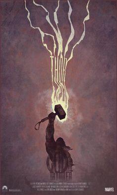 """""""Thor"""" alternative poster (by DukeDastardly)"""