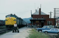or many northern communities train time was a special time, even in the Eighties. August 29, 1984