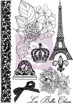 tons of french stamps on this site...would be so much fun for a dream journal :)