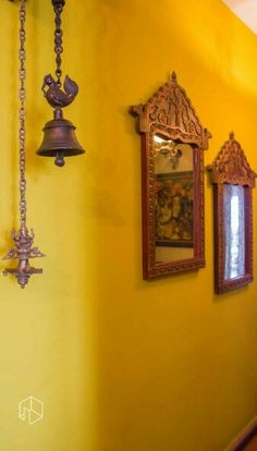Shades of #yellow used in a perfect way along with #handicrafts for that amazing #Indian feel.