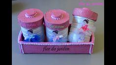 Kit Higiene para bebê com garrafa de leite  (RECICLAGEM) Hygiene kit for...