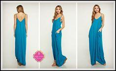 Turquoise Summer Maxi