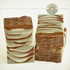 Chocolate + Mint Soap