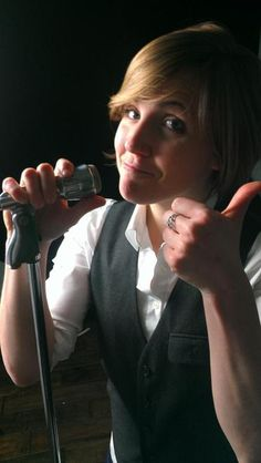 """Hannah """"Harto"""" Hart --- I laugh so much at her YouTube videos. They're hilarious. She's so good at puns it's crazy."""
