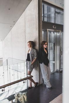 striped outfit / kjaer kobenhavn