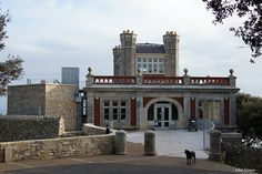 Durlston Castle, Swanage, Dorset. A clifftop folly that has been restored recently and now acts as a visitor centre to the Durlston Country Park - http://patrickbaty.co.uk/2011/06/21/durlston-castle-dorset/