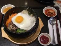 Bibimbap Recipe (Korean mixed rice bowl with toppings) | Korea | Whats4Eats