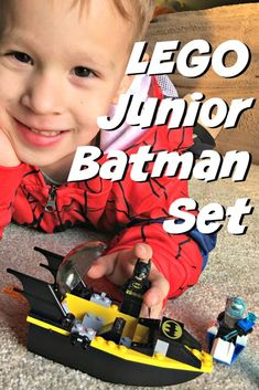 My 5 year old received this Batman vs Mr Freeze Lego set for his birthday and it was perfect - find out why! Lego Sets For Boys, Batman Toys For Kids, Best Lego Sets, Cool Toys For Boys, Lego Batman Movie, Gifts For Boys, Lego Junior Sets, Lego Jr