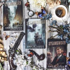 Are you a steampunk fan? The Steamborn series by @ericrasher is filled with action adventure and intrigue! If you are a fan of steampunk books definitely check out this series! To learn more you can click on the link in my bio! Thanks to the author we have a giveaway for copies of Steamborn Steamforged and Steamsworn. GIVEAWAY Enter to win a copy of all three books in the Steamborn Series - follow me @ericrasher and @storygramtours - tag a friend you think will be interested For EXTRA entry…