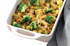 Pirofila di pasta con broccoli e uvetta