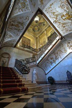 Foz Palace interior , Lisbon , Portugal