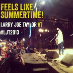 Feels Like Summertime! #LJT2013 #TTX