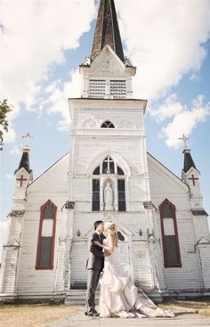 church wedding photo shoots, full length wedding dresses, wavy bridal hair styles #2014 #home decor #ideas #Easter #spring wedding #Craft #food www.dreamyweddingideas.com