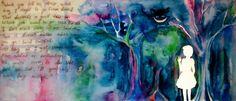 Lost in Wonderland by Chartzan.deviantart.com on @deviantART #Alice #Wonderland