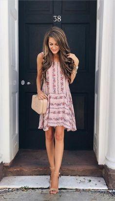 Очаровательные летние платья с цветочным принтом