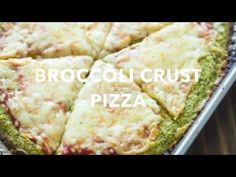 Healthy homemade broccoli crust pizza is gluten-free and low-carb and comes together in under 30 minutes. It's all about the broccoli today! If you've been following the blog, then you might have noticed how obsessed I am with these healthy pizza crusts. A few years ago I shared the best cauliflower crust pizza and