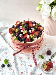 Además de bonita queda espectacular esta tarta de cumpleaños